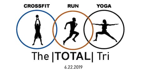 The Total Tri: CrossFit | 5K Race | Yoga tickets