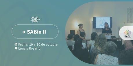 SABio Segundo Nivel en Rosario, 19 y 20 de octubre entradas