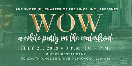 WOW - A WHITE PARTY ON THE WATERFRONT tickets