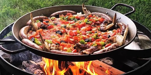 Paella Spanish BBQ in the Vineyard!  July 27th, 2019