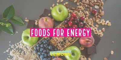 Foods for Energy workshop