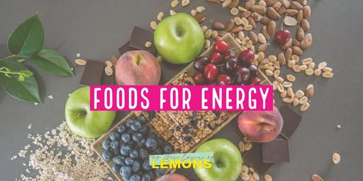 Foods for Energy workshop