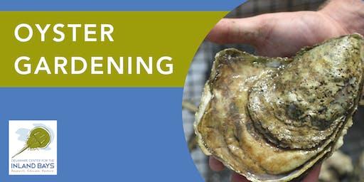 Oyster Gardening Kick Off 2019!