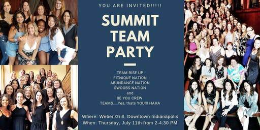SUMMIT TEAM PARTY, TRU, FITNIQUE, ABUNDANCE NATION, SWOOBS,  BE YOU CREW