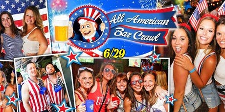 The All American (July 4th) Bar Crawl  tickets