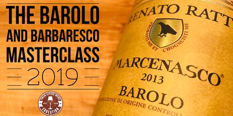 The Barolo and Barbaresco Masterclass tickets