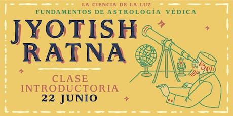 Clase Introductoria Gratuita Astrología Védica - Jyotish Ratna entradas