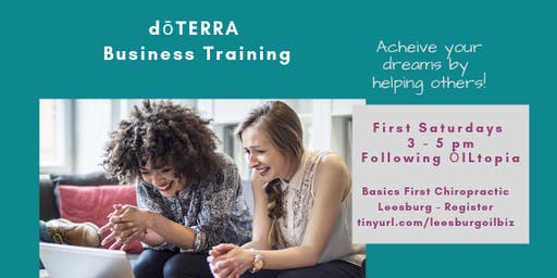 doTERRA Leesburg Business Training - Lisa Bergman Team