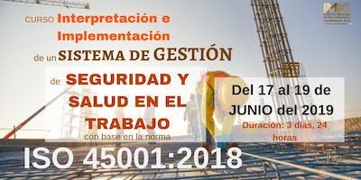 INTERPRETACIÓN E IMPLEMENTACIÓN DE UN SG DE SEGURIDAD Y SALUD EN EL TRABAJO