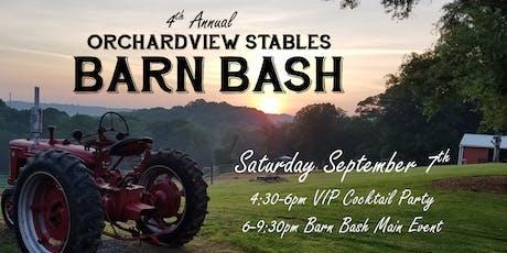 4th Annual Barn Bash tickets