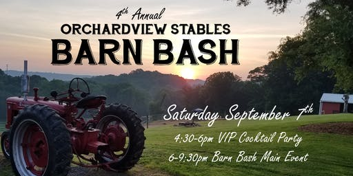 4th Annual Barn Bash