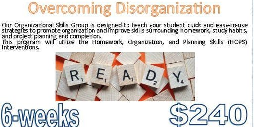 $240 (6-sessions) UF Health PAIP: Overcoming Disorganization