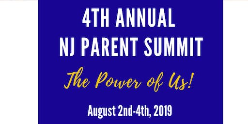 4th Annual NJ Parent Summit- VENDOR TICKET