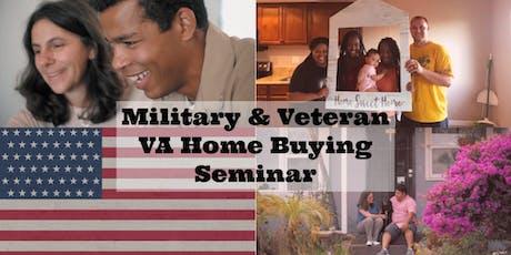 Military & Veteran VA Home Buying Seminar tickets