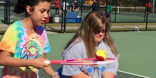 Abilities Tennis and Special Olympics of Orange County Play Day
