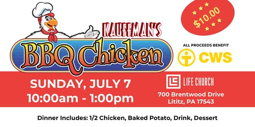 Kauffman's Chicken BBQ - Benefits CWS