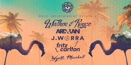 Walker & Royce, Ardalan, J.Worra, Fritz Carlton, Wyatt Marshall tickets