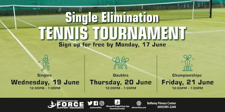 BFC Single Elimination Tennis Tournament tickets