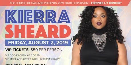 """Forever LIT"" Youth Explosion 2019: Featuring Kierra ""Kiki"" Sheard tickets"