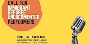 Home, Safe and Sound: World Refugee Day Storytelling...