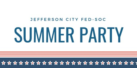 Fed Soc Summer Party 2019 tickets