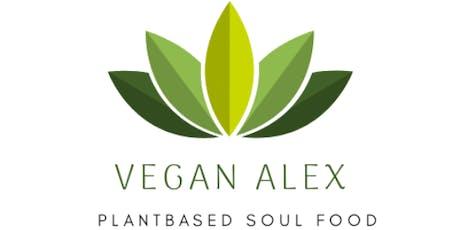 Come cook wid vegan Alex tickets