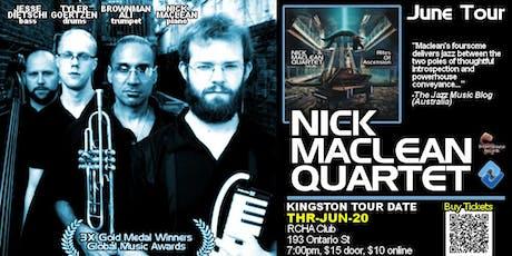 NICK MACLEAN QUARTET feat. BROWNMAN ALI (Kingston) tickets