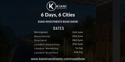 Kiani Investments- Property Road Show (Hounslow, Heathrow)