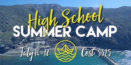 High School SUMMER Camp 2019 tickets