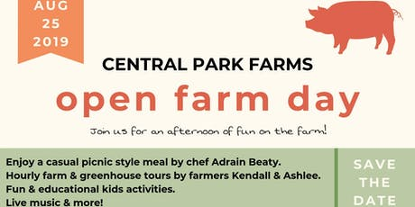 August Open Farm Day tickets