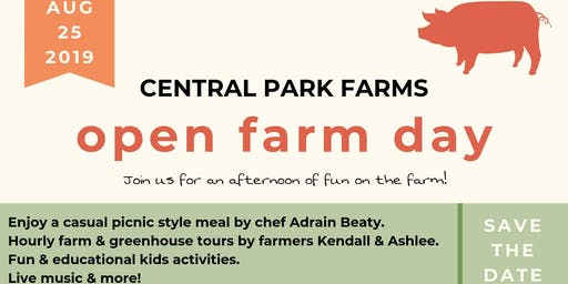 August Open Farm Day