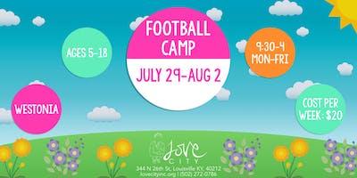 Football Camp at Love City