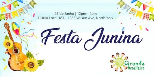 Festa Junina do Ciranda Brasileira 2019