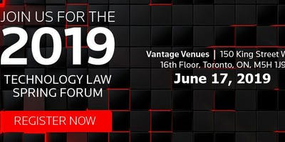 The 2019 Technology Law Spring Conference