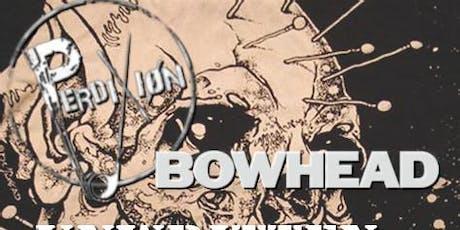 Perdixion/Bowhead/Unwritten/Suaka tickets