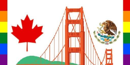 SF Pride Parade 2019 - Friends of Canada and Mexico