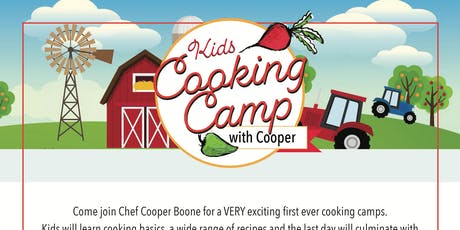 Kids Cooking Camp with Cooper (Ages 9-13) tickets