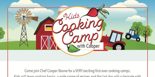 Kids Cooking Camp with Cooper (Ages 9-13)