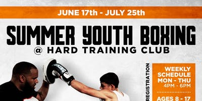 Summer Youth Boxing @ Hard Training Club