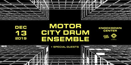 Motor City Drum Ensemble tickets