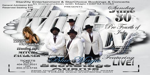 """All White Party Featuring Legendary """"BLUE MAGIC"""""""