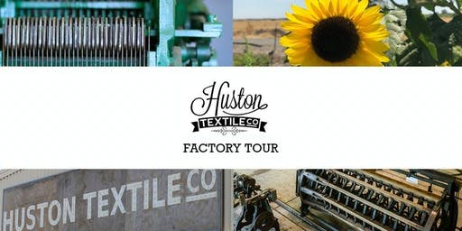 American Textile Mill Factory Tour -Summer Special Saturday July 6