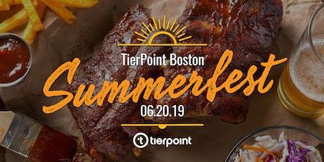 TierPoint Boston SummerFest  tickets