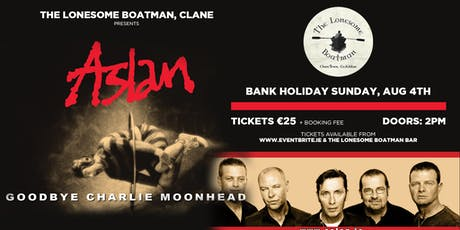 Aslan at The Lonesome Boatman, Clane tickets