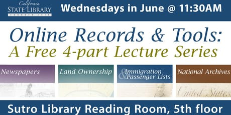 Online Records and Tools with Karina Robinson tickets
