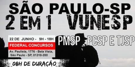 SÃO PAULO | ARTE DA GUERRA ESTRATÉGIA E TÁTICA BLACK VUNESP - PCSP, PMSP E TJSP ingressos