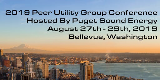 2019 Peer Utility Group Conference