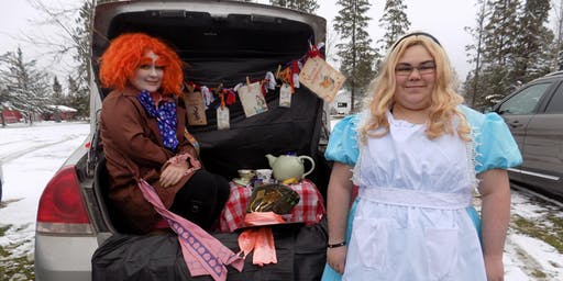 Spooktacular Safety Trunk or Treat Family Event