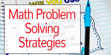 Investigating Problem Solving Strategies tickets
