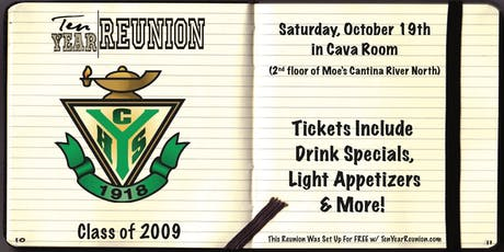 York High School Class of 2009: Ten Year Reunion tickets